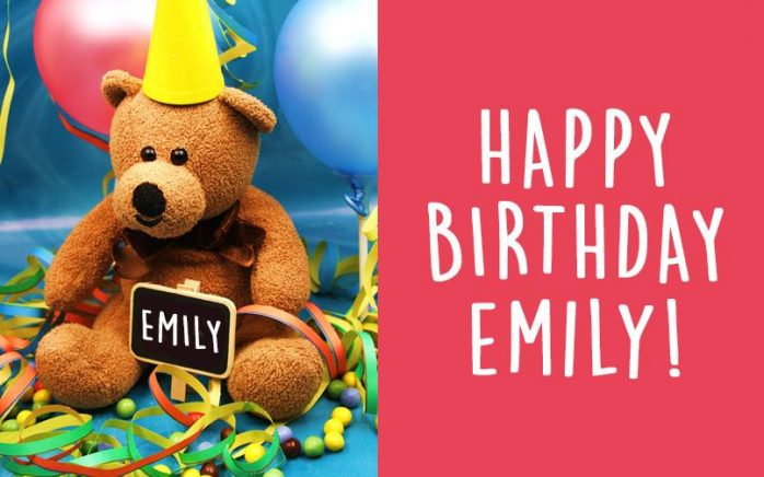 Can you send Emily a birthday card?